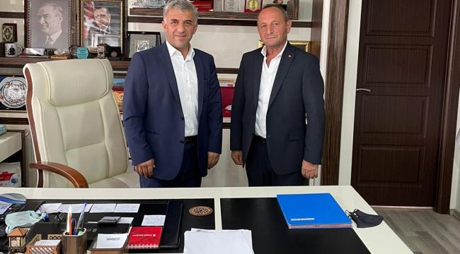 Fahri Koç, Çaykara Belediye Başkanı Sayın Hanefi Tok'u Ziyaret Etti
