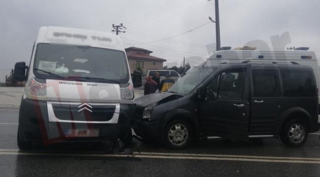 Geyve-Taraklı yolunda kaza